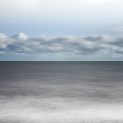 A sea and sky horizon on a slow shutter speed by Tim Barker at Atelier Editions 2.jpg