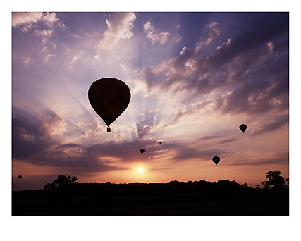 Balloon Silhouette by David Usill at Atelier Editions