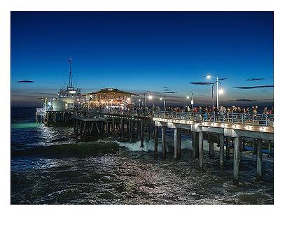 Santa Monica Pier, USA by David Usill at Atelier Editions