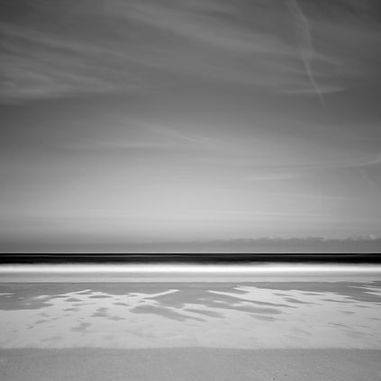 High Newton by-the-sea. monochrome by Tim Barker