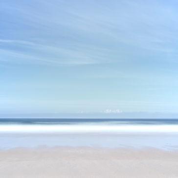 Whitehorses beach scene by Tim Barker