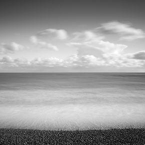 Monochrome 2 Camber sands beach, UK