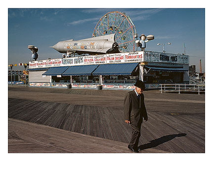 Coney Island No 3, 1978, New York, USA. by David Usill at Atelier Editions