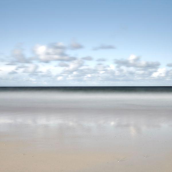 Sea and sky horizon, Hebrides, UK