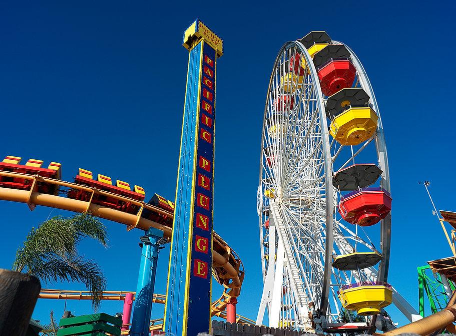 Pacific Park fun fair, Santa Monica Pier, CA. USA.jpg
