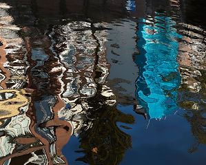 Reflectons in the canal waters of Amsterdam2.jpg