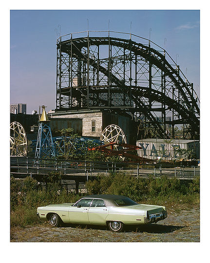 Coney Island No 2, 1978, New York, USA by David Usill at Atelier Editions