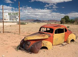 Solitaire - Namib desert.