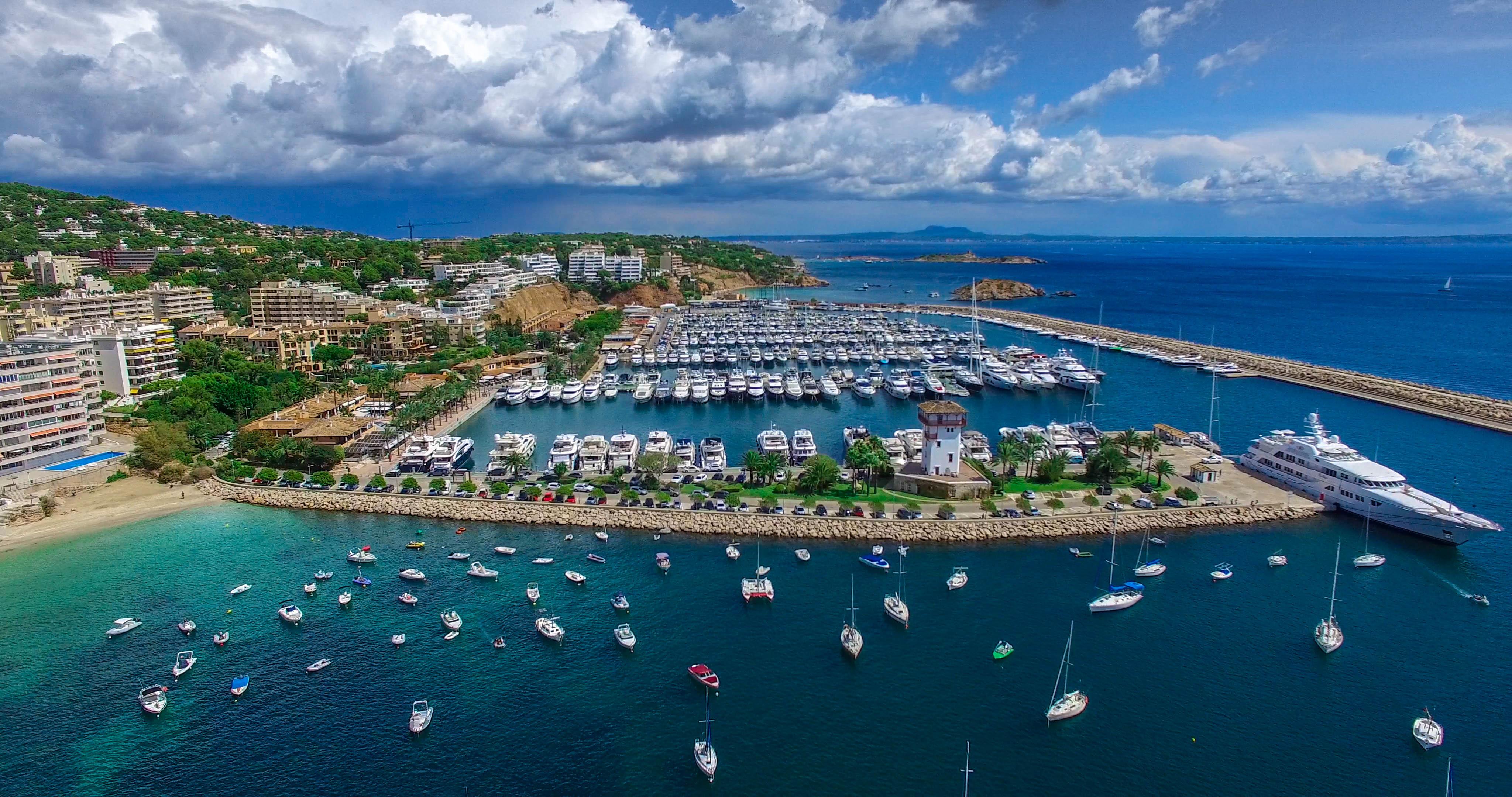 Puerto Portals Drone