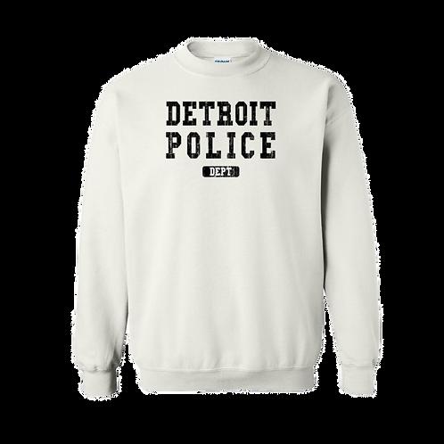 Detroit Police Dept. Washed Sweatshirt