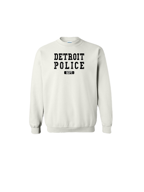 Detroit Police Dept. Washed Sweatshirt