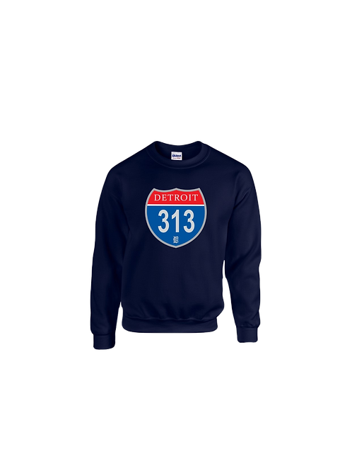 Detroit 313 Interstate Sweatshirt