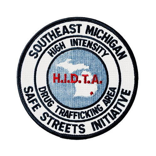 Southeast Michigan HIDTA Collectors Patch