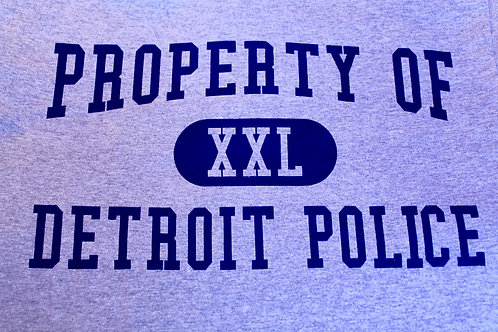 Property of Detroit Police T-Shirt