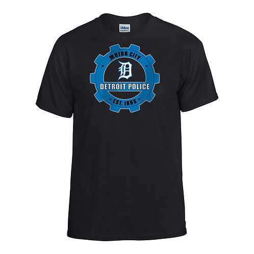 Motor City Detroit Police Gear T-shirt