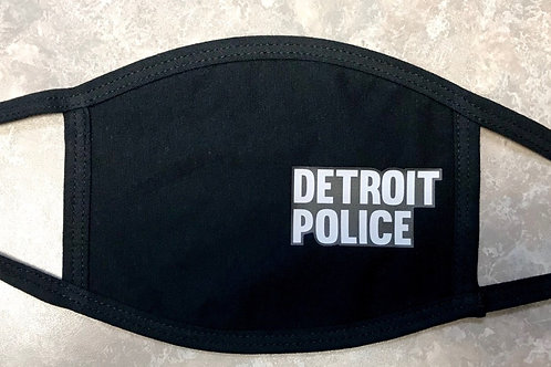 Detroit Police Face Mask