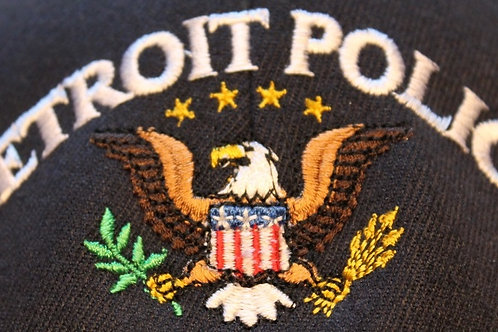 Detroit Police Eagle Low Adjustable Hat