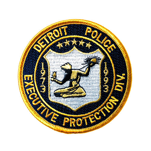 Detroit Police Executive Protection Division Collectors Patch