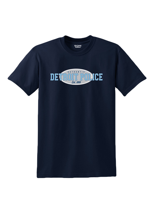 Detroit Police Authentic T-Shirt