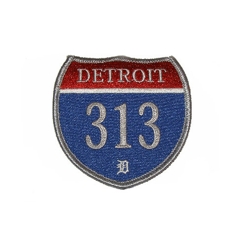 Detroit 313 Interstate Collectors Patch