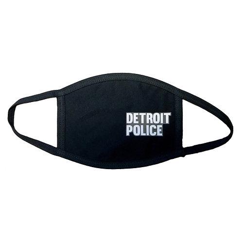 Detroit Police Face Mask
