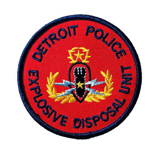 Detroit Police Explosive Disposal Unit Patch (Bomb Squad)