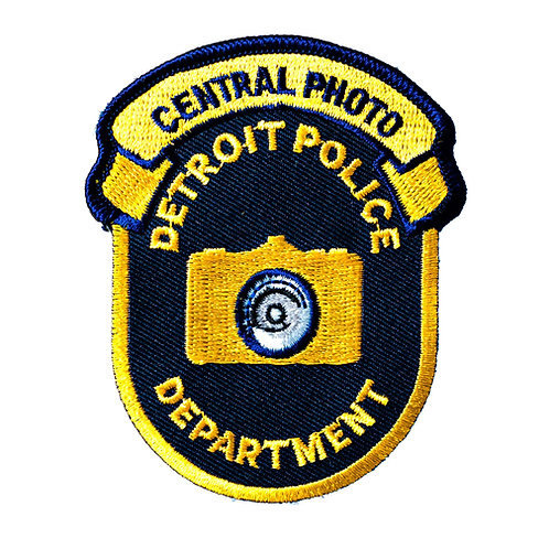 Detroit Police Department Central Photo Collectors Patch