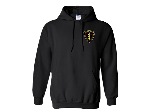 Detroit Police Tactical Mobile (Left Chest) Hoodie 18500