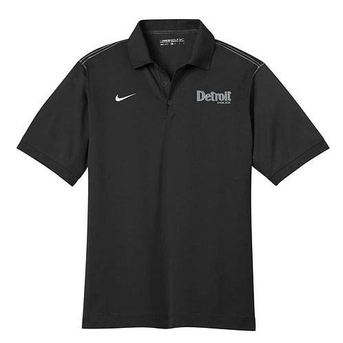 Nike Detroit Police Embroidered Dri-FIT Sport Swoosh Pique Polo 443119
