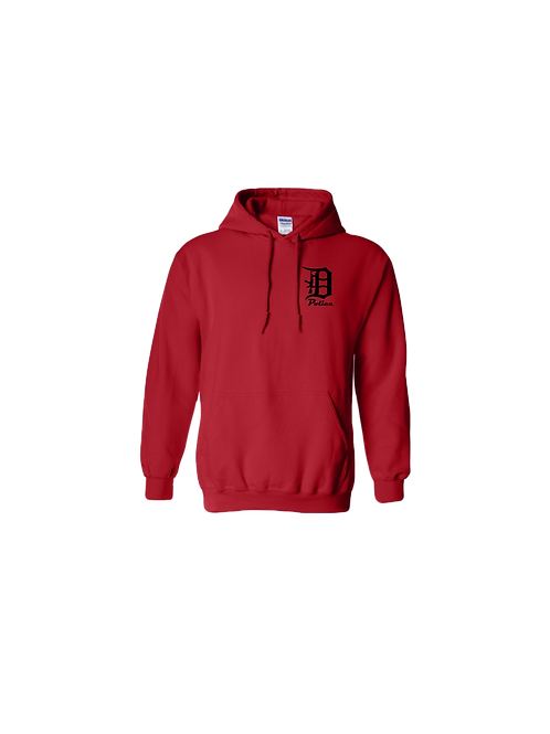 Detroit Police D Rifle (Left Chest) Hoodie