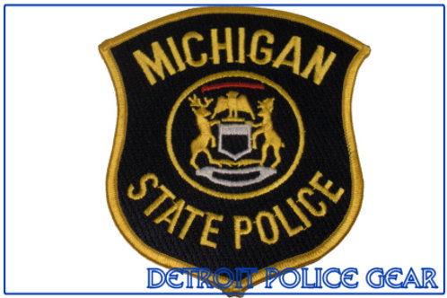Michigan State Police Collectors Patch
