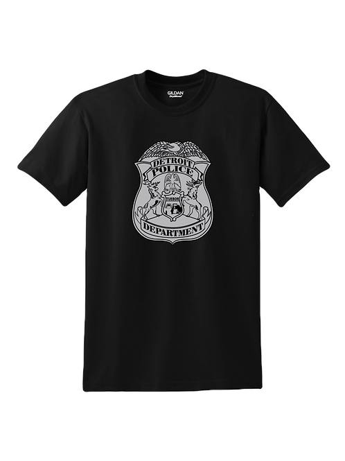 Detroit Police Badge T-Shirt 8000