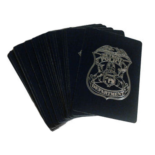 Detroit Police Playing Cards
