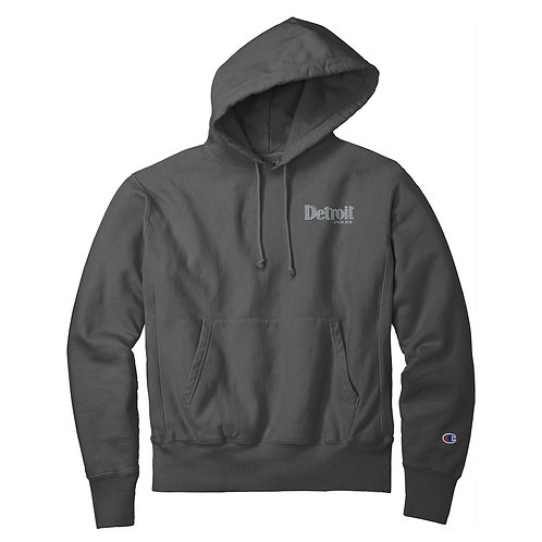 Champion ® Detroit Police Embroidered Sweatshirt GDS101