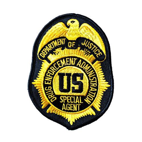 DEA Special Agent Collectors Patch