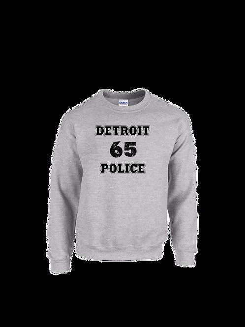 Detroit Police 65 Sweatshirt