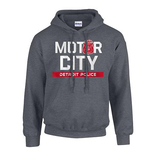 Motor City Detroit Police Red Wings Hoodie 18500