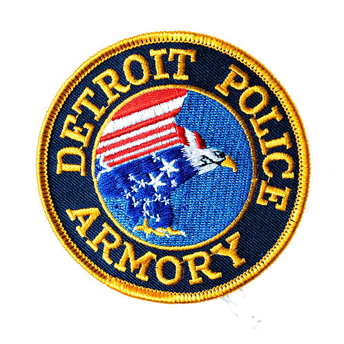 Detroit Police Armory Collectors Patch