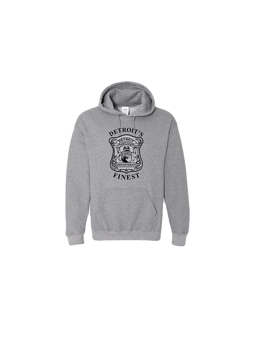 Detroit Police Finest (Old Style) Hoodie