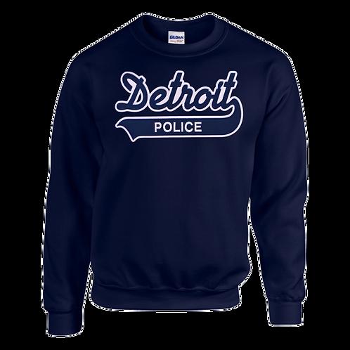 Property of Detroit Police Applique Sweatshirt