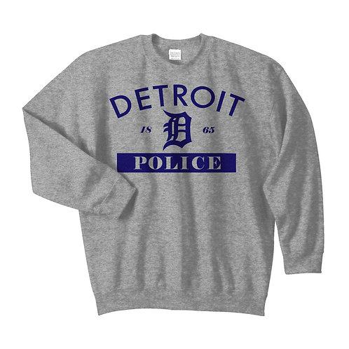 Detroit Police 1865 Old English D Crewneck Sweatshirt