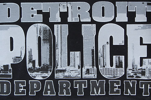 Detroit Police Department Skyline T-Shirt