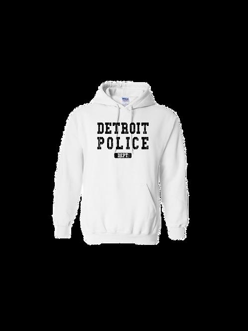 Detroit Police Dept. Washed Hoodie