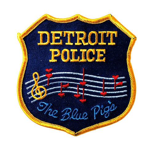 Detroit Police The Blue Pigs Collectors Patch