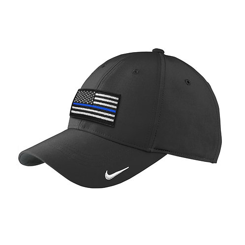 Nike Swoosh Blue Stripe Flag Legacy 91 Cap 779797