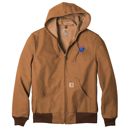 Carhartt ® Tall Thermal-Lined Duck Active Jac 313 patch Jacket CTTJ131