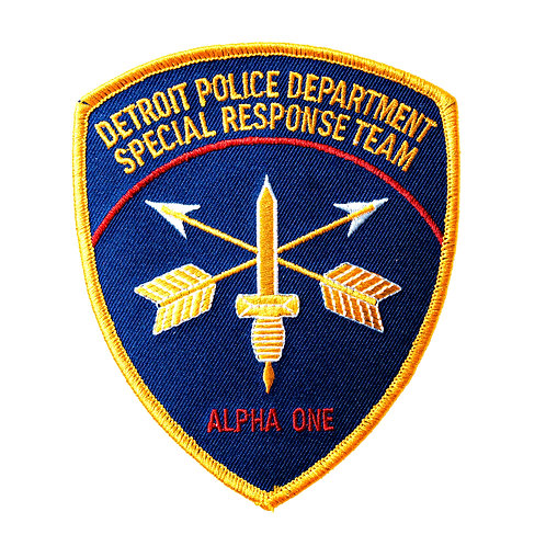 Detroit Police Special Response Team Collectors Patch