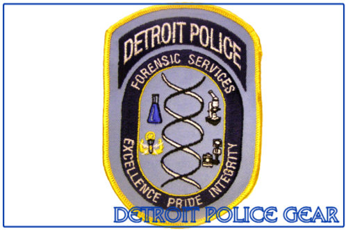 Detroit Police Forensic Services Collectors Patch