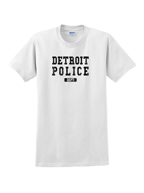 Detroit Police Dept. Washed T-Shirt