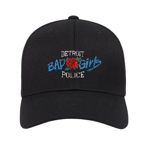 Detroit Police Bad Girls Low Profile Adjustable Hat